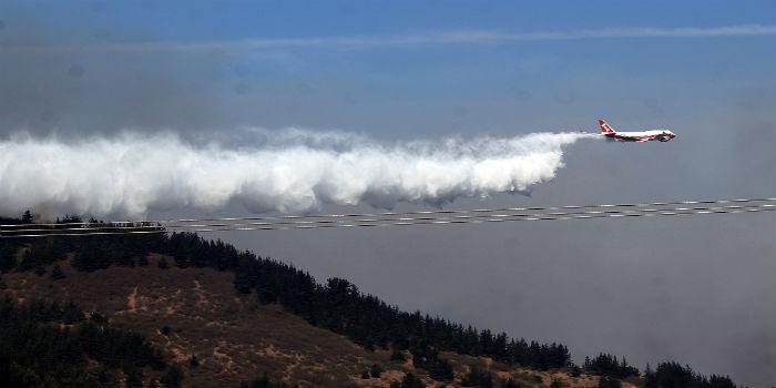 Chile incendios