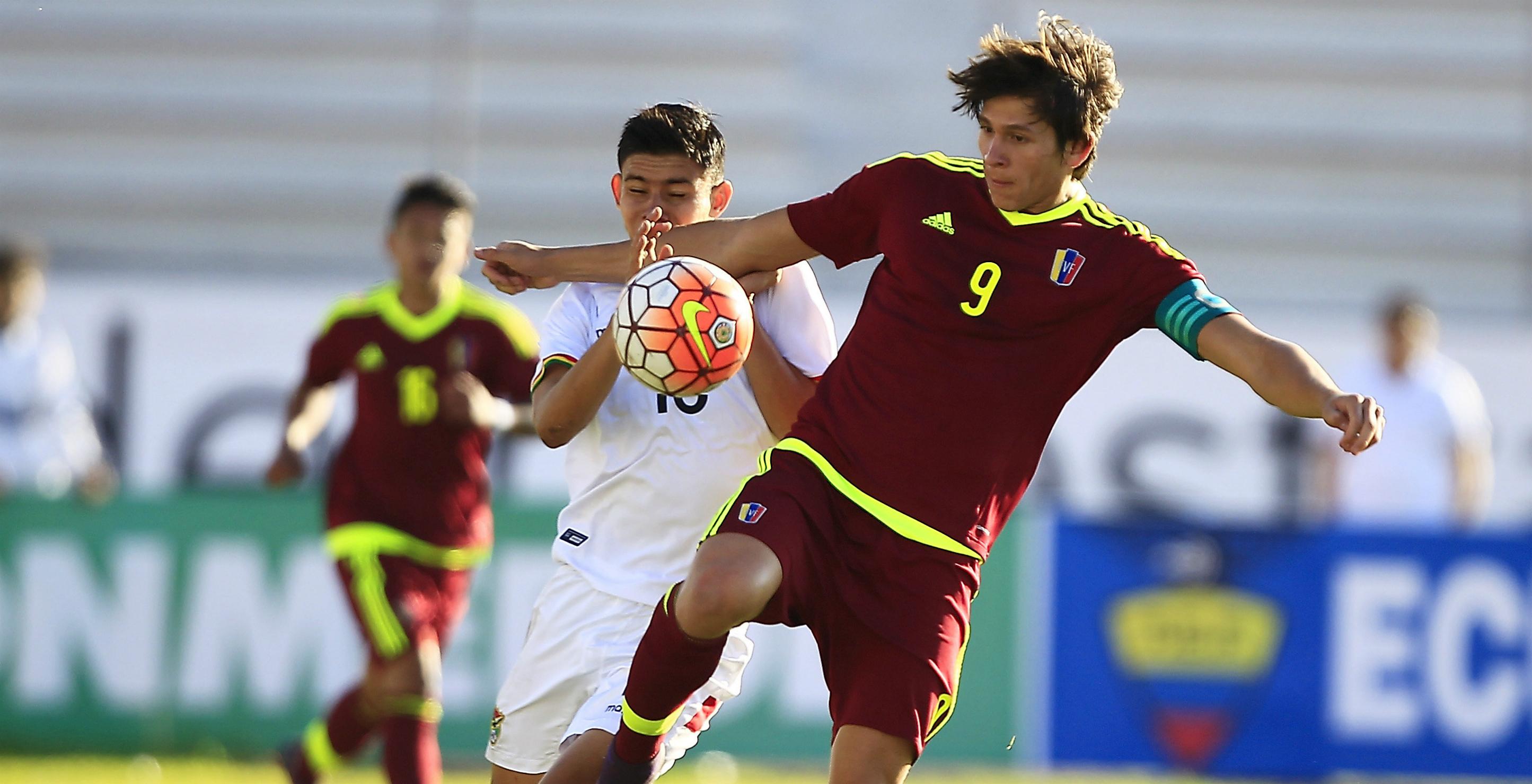 ronaldo peña venezuela bolivia sudamericano sub 20