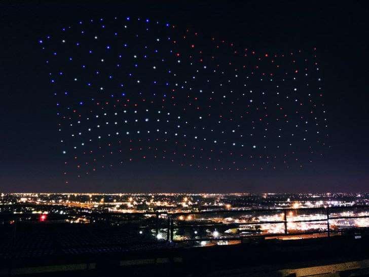 Drones super Bowl