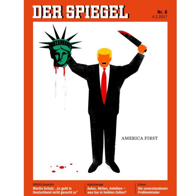 Portada Der Spiegel completa