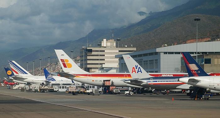 Estados Unidos suspende todos los vuelos desde y hacia Venezuela