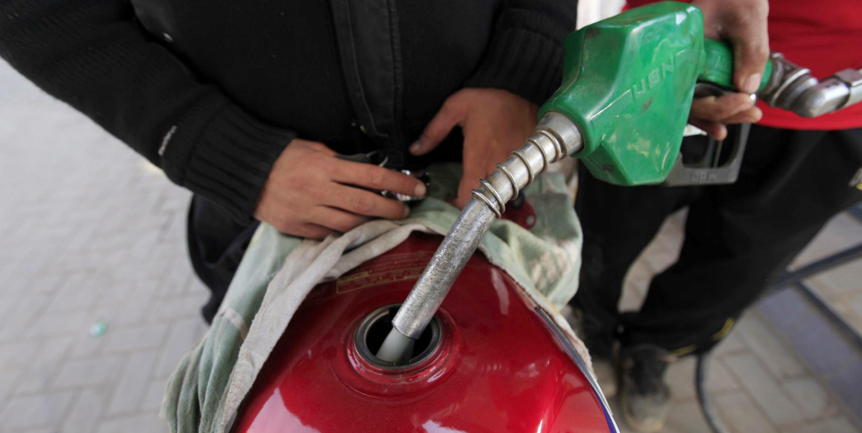 gasolina en moto