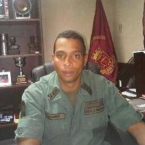 teniente coronel de la Guardia Nacional Bolivariana Eduardo Gámez Flores
