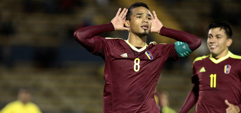 yangel herrera venezuela ecuador sudamericano sub20