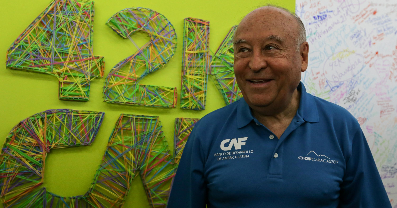 presidente de la CAF enrique garcia (1)