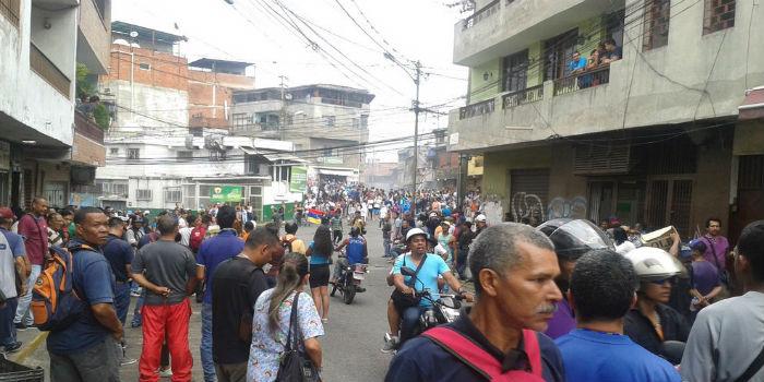 Minas de Baruta protestas