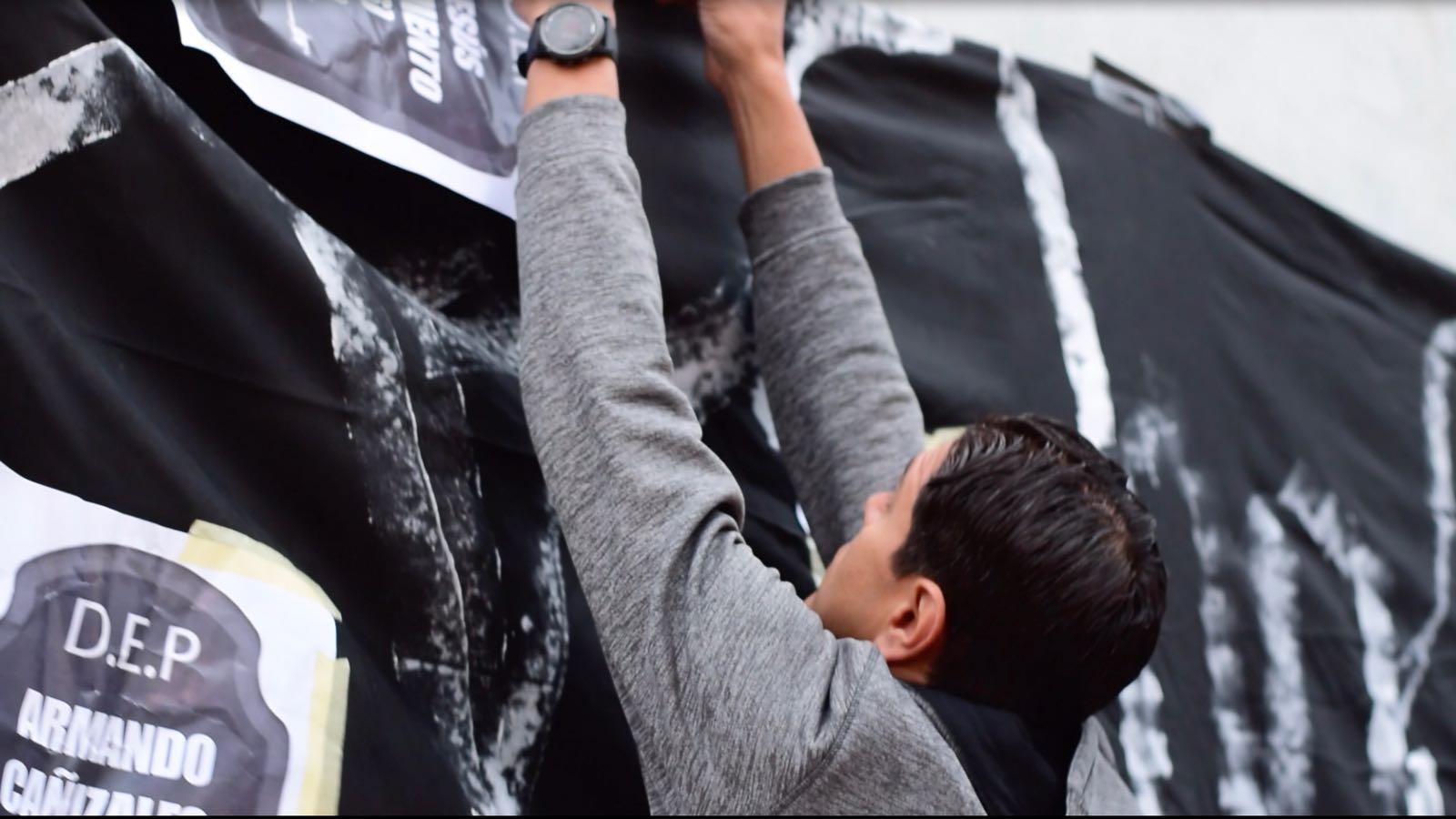 PROTESTA EN CONSULADO DE VZLA EN MADRID 17MAYO