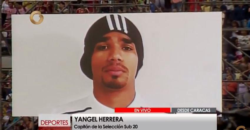 Capture del Video Yangel Herrera