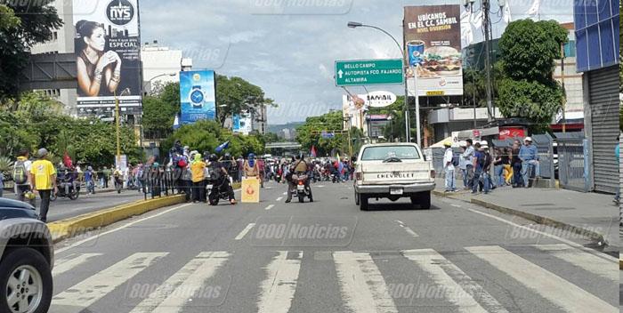 protesta av libertador sambil