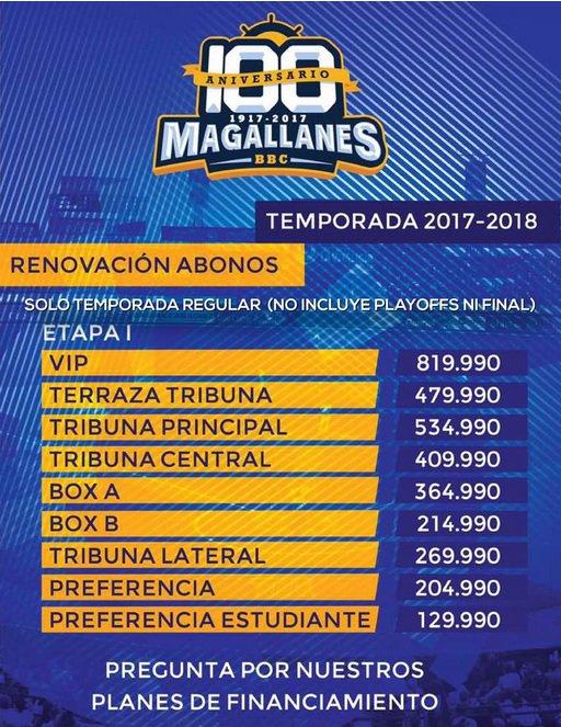Abonados Magallanes