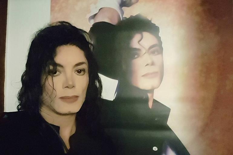 Sergio Cortés, doble de Michael Jackson