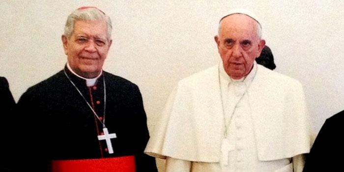 papa francisco cardenal jorge urosa