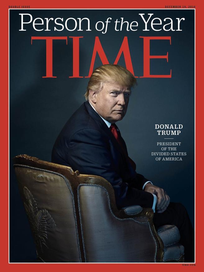 Donald Trump, persona del año de la revista 'Time'