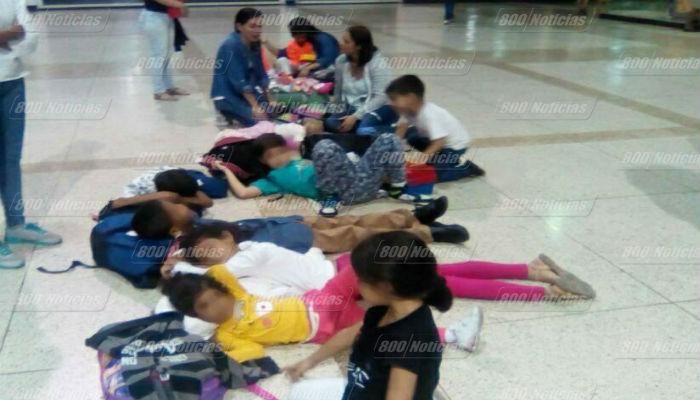 Niños que prohibieron la salida del país