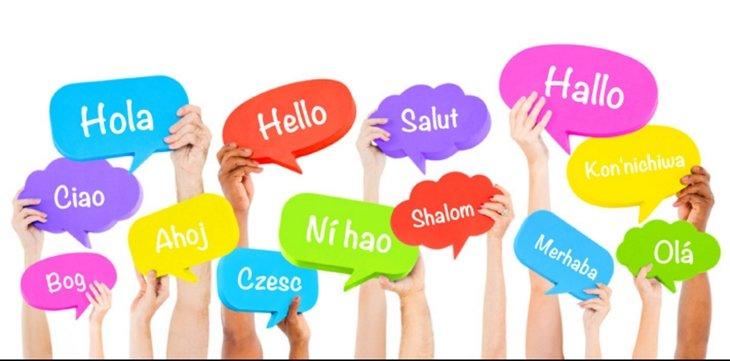 Varios idiomas - habladores - inglés - español